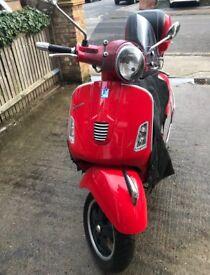 Vespa Gts300 - 2011 bike, good condition, service records, lots of accessories