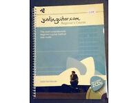 Guitar coursebook for beginners - Juistin Sandercoe - Like new