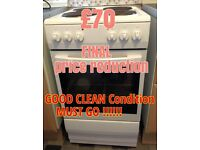 BARGAIN White Electric Cooker with Instructions ONLY £70