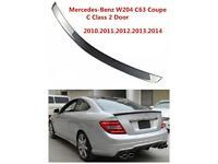 W204 Mercedes C Class Coupe Spoiler in Black