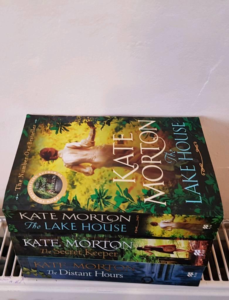 3 Kate Morton Paperback Books
