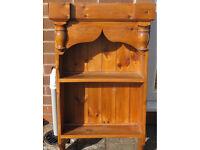Vintage Gothic Style Bookcase