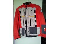 BMW Rally 2 motorcycle jacket and trousers.