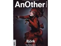 AnOther Magazine S/S 2016 BJORK on the cover, Kate Moss, Kirsty Hume, Grimes