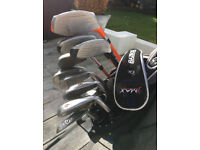 US kids UL 51 Left hand childs golf clubs and bag
