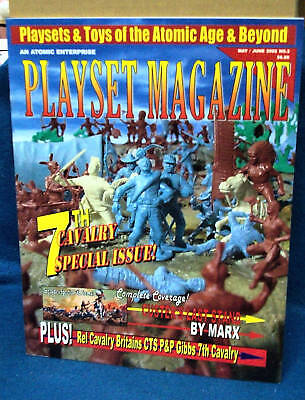 Playset Magazine #3 Custers Last Stand-US 7th Cavalry, REL, Britains+Gibbs
