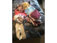 Girls toddler bundle of clothes (9m-24m)