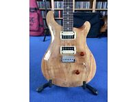 PRS SE Custom 24 Spalted Maple 6 String Electric Guitar With Humbuckers + Gigbag