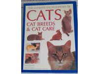 CAT BOOK - THE ULTIMATE ENCYCLOPEDIA OF CAT BREEDS & CARE