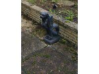 Small garden statue