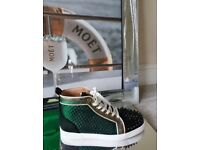 Christian Louboutin High Top Spike Trainers - Genuine Gucci D&G Louis Vuitton Balenciaga