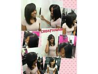 Afro caribbean / european hairdresser , weave by Tamara Creativhairstyle