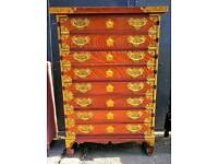 Small chinese style chest of drawers