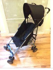 OBABY Pushchair Stroller Black