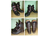 Mens Boots - FLY - Size 10.5 UK / 45. Great Condition - Great Quality Boots