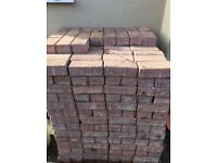 Block paving (used) price per 100