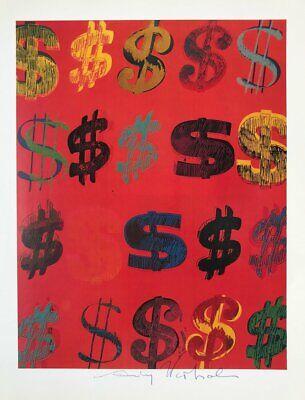 TROIKA DOLLAR SIGN Schlüsselhalter Key ring Andy Warhol design