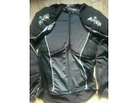 Motorbike motocross armour protection
