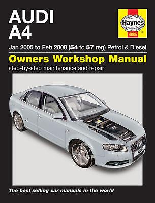 Haynes Workshop Repair Manual Audi A4 05 - 08