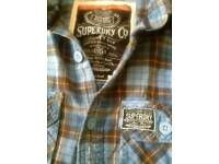 Superdry mens shirt size s
