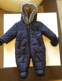 Asda Snow Suit boy 0-3 months