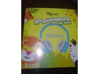 *NEW IN BOX* Kosee Kids BTHP2 Volume Limiting Wireless Bluetooth Headphones for Children