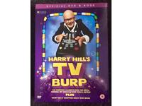 Harry Hill's TV Burp official book and DVD set, brand new and sealed.