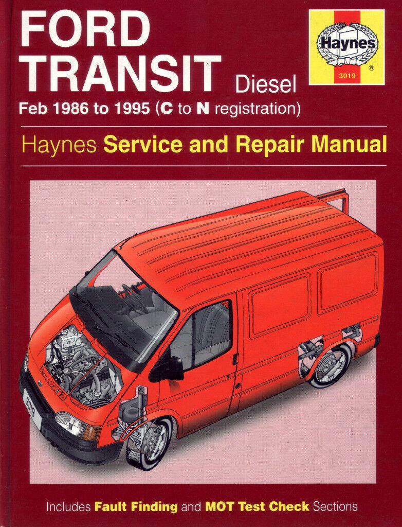 haynes ford transit diesel service repair manual 1986 to 1995 n reg rh  gumtree com 2000 Ford Transit Diesel Ford Transit ...