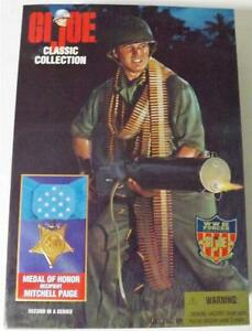 HASBRO-GI-JOE-Medal-of-Honor-Mitchell-Paige-12-Figure-NEW-IN-BOX