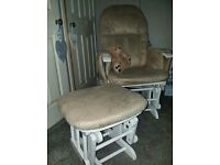 Nursing Chair & Foot Rest