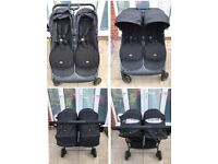 Mamas and Papas Armadillo twin double pushchair buggy