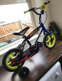 Small Children's Bike with Stabilisers