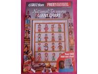 National Treasures Giant Cross Stitch Chart