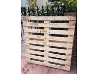 FREE Wooden Pallet 105cm x 105cm