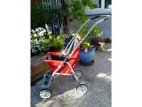 Vintage Push Chair: Pram: Silver Cross : 1970's