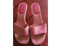 Guess pink sandals