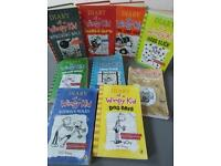 Diary of a Wimpy Kid set (9 books)