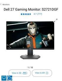 """Dell 27"""" gaming monitor"""