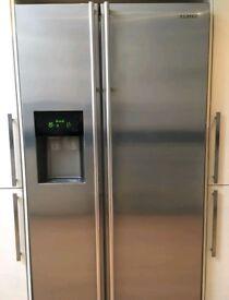 Samsung American fridge freezer Silver