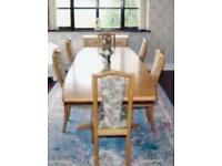 Skovby Extending Dining Table & 6 Chairs