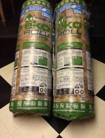 2rolls of Eko top up loft insulation