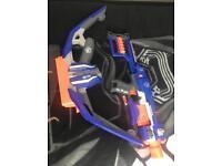 Nerf Stratobow and Gun