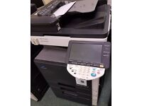 A4-A3 copier printer - scanner -colour - mono 20 pages per minute ex lease wigig