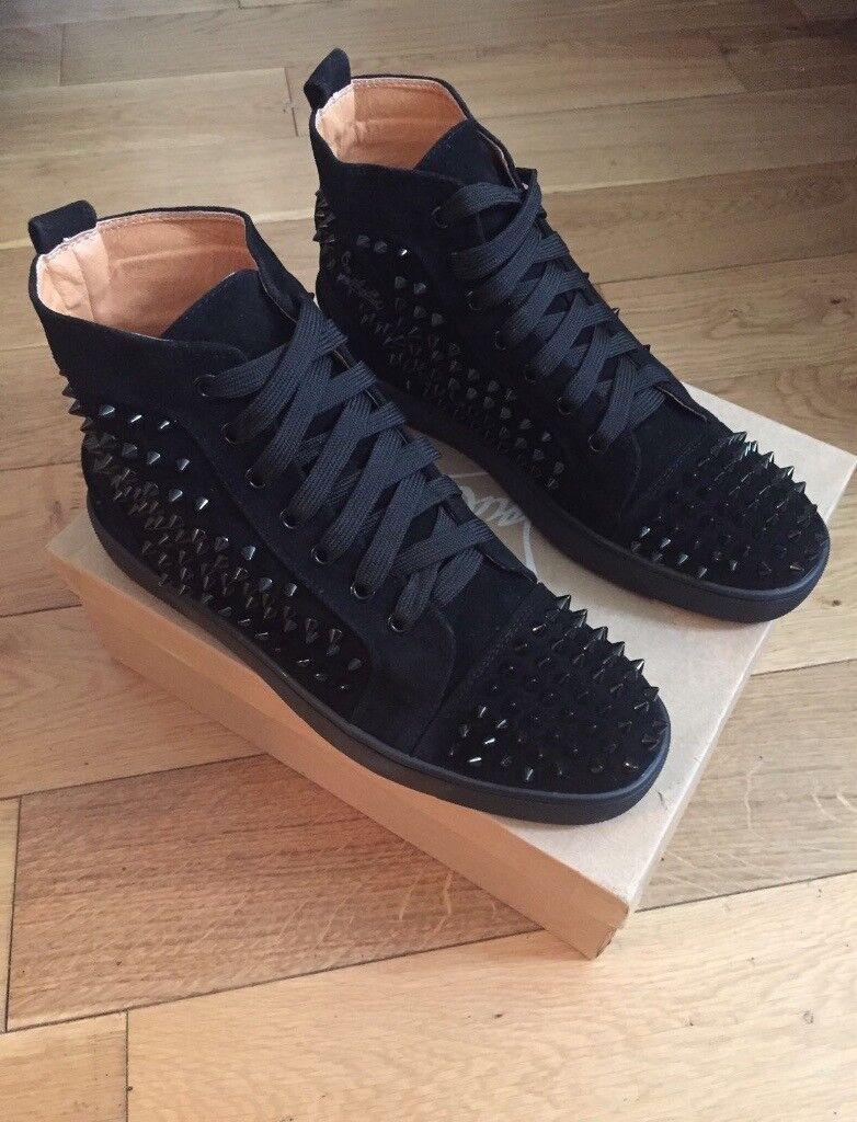4466ba96fba christian louboutin blue soles christian louboutin womens sneakers ...