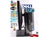 Dell OptiPlex All-in-One Duo CORE 2.3GHz PC windows7 2gb RAM 160GB HARDDRIVE WINDOWS 7