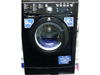 8kg Black, A+ INDESIT Washing Machine + A+ Rated Black INDESIT F/F!!!