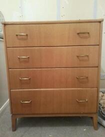 Vintage Mid-century chest of drawers