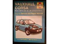 Vauxhall Corsa 1993-1997 Haynes Manual