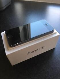iPhone 5S Unlocked immaculate condition boxed