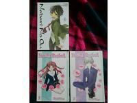 3 manga books